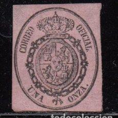 Sellos: ESPAÑA , 1855 EDIFIL Nº 36 ( * ). Lote 109481587
