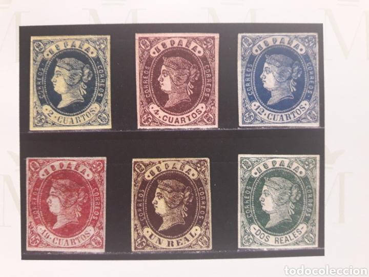 Sellos: ISABEL II Coleccion Completa 1862-65: FILATELIA CALIDAD. SELLOS CLASICOS ESPANA. OFERTA -50% - Foto 8 - 112144258