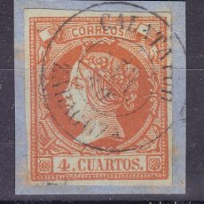 Francobolli: AA10-CLASICOS EDIFIL 52 FECHADOR TIPO II CALATAYUD ZARAGOZA. Lote 113960255