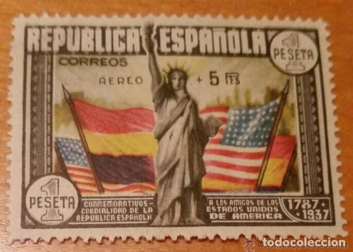 1938. ANIVERSARIO CONSTITUCION EEUU. EDIFIL 765. NUEVO SIN CHARNELA. PERFECTO ESTADO. (Sellos - España - Isabel II de 1.850 a 1.869 - Nuevos)