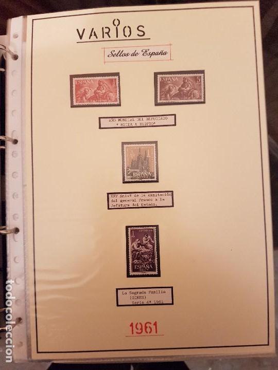 Sellos: FILATELIA.Sellos de España 1960/65 Nuevos. Leer dentro - Foto 8 - 115711887