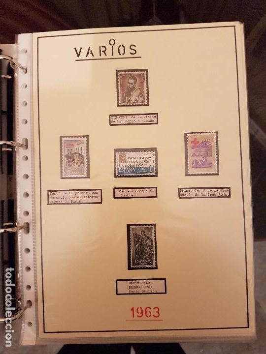 Sellos: FILATELIA.Sellos de España 1960/65 Nuevos. Leer dentro - Foto 36 - 115711887