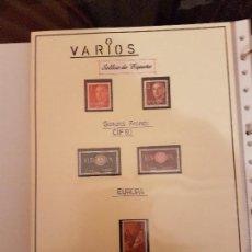 Sellos: FILATELIA.SELLOS DE ESPAÑA 1960/65 NUEVOS. LEER DENTRO. Lote 115711887