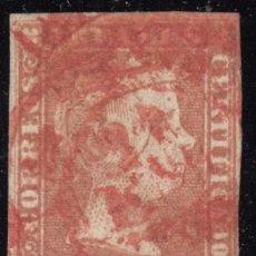 Sellos: ESPAÑA, 1850 EDIFIL Nº 3 , MATASELLOS FECHADOR , . Lote 118619339