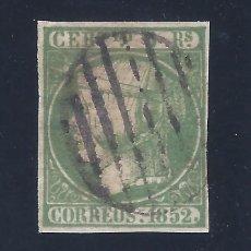 Sellos: EDIFIL 15. ISABEL II. AÑO 1852. VALOR CATÁLOGO: 180 €.. Lote 121282855