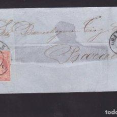 Sellos: F25-58-ENVUELTA GRANADA-BARCELONA 1859. RUEDA DE CARRETA 5. Lote 122047843