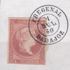 Sellos: CL8-19- CLÁSICOS EDIFIL 48B. MATASELLOS FREGENAL BADAJOZ. Lote 122102143