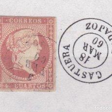Sellos: CL8-19- CLÁSICOS EDIFIL 48. MATASELLOS CASTUERA BADAJOZ. Lote 122102391