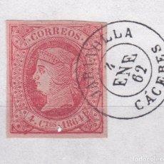Sellos: CL8-21- CLÁSICOS EDIFIL 64. MATASELLOS JARANDILLA CÁCERES. Lote 122103011