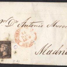 Sellos: ORIHUELA MURCIA 1850 - BAEZA 14 DIC. ISABEL II - PLANCHA II POSICION 40 - TAL FOTO. Lote 126025475