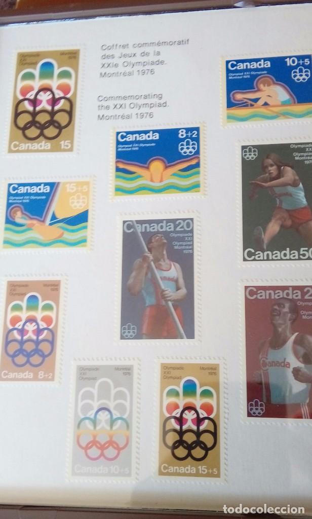 Sellos: Olimpic stamp souvenir cases Montreal 1976 - Foto 3 - 130607674
