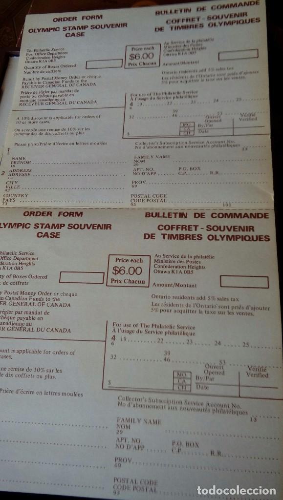 Sellos: Olimpic stamp souvenir cases Montreal 1976 - Foto 5 - 130607674
