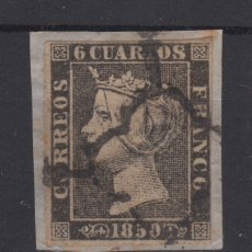 Sellos: 1850 ISABEL II 1A(*) 26,50€. Lote 132383325