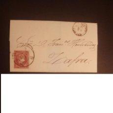 Sellos: TRUJILLO 1859 RUEDA DE CARRETA COLOR NEGRO. Lote 113277915