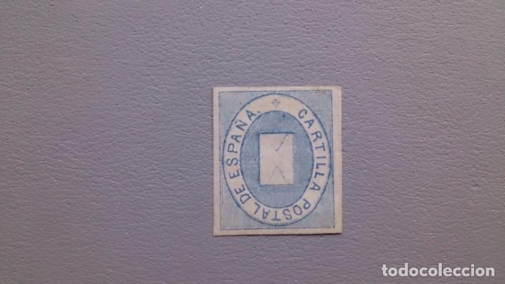ESPAÑA - 1869 - FRANQUICIA POSTAL - EDIFIL 1 - MH* - NUEVO - MARQUILLA - VALOR CATALOGO 75€. (Sellos - España - Isabel II de 1.850 a 1.869 - Nuevos)