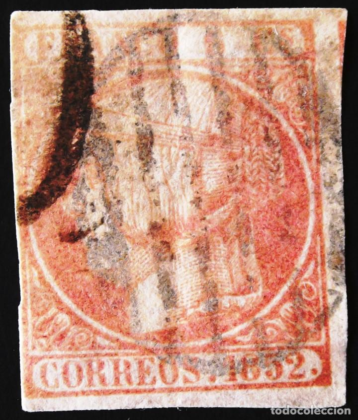 EDIFIL 12, USADO. (Sellos - España - Isabel II de 1.850 a 1.869 - Usados)