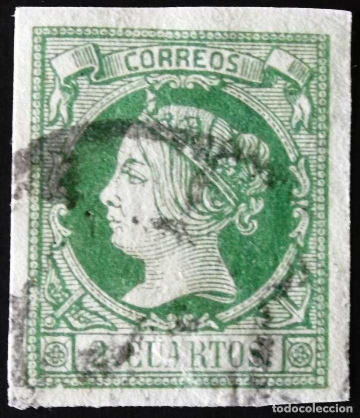 EDIFIL 51, USADO. (Sellos - España - Isabel II de 1.850 a 1.869 - Usados)