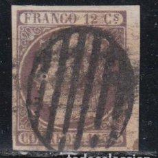 Sellos: ESPAÑA, 1852 EDIFIL Nº 13 , BORDE DE HOJA, . Lote 137668718
