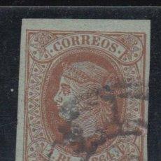 Sellos: ESPAÑA, 1864 EDIFIL Nº 67. Lote 137675870