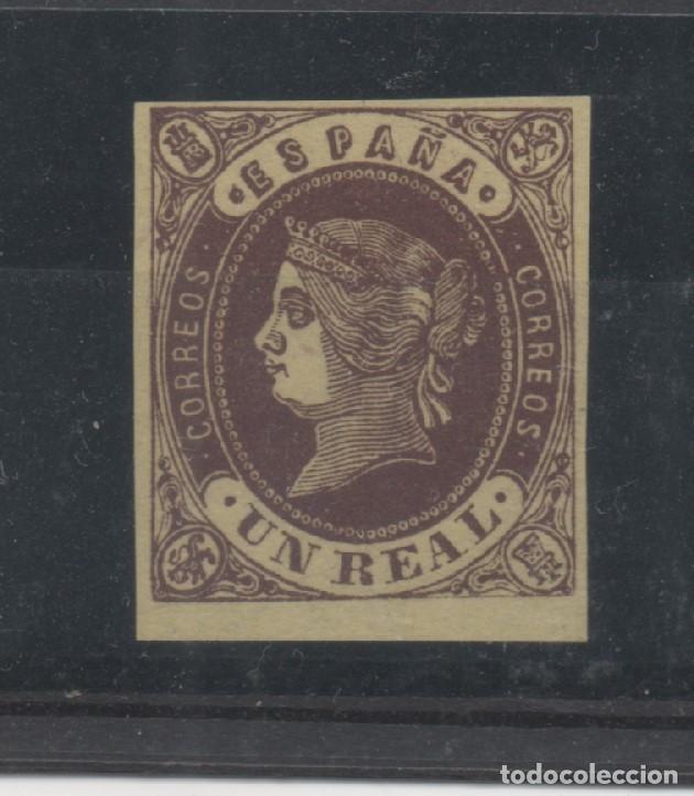 ESPAÑA=EDIFIL Nº 61_ISABEL II_VALOR 87 EUROS_VER FOTO (Sellos - España - Isabel II de 1.850 a 1.869 - Nuevos)