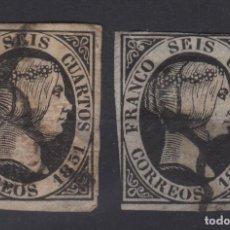 Sellos: 1951 ISABEL II EDIFIL 6(º) VC 9,00€. Lote 138933190