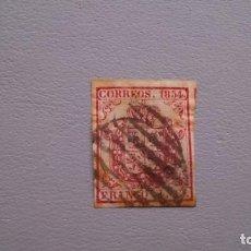 Sellos: ESPAÑA - 1854 - ISABEL II - EDIFIL 33A - ESCUDO DE ESPAÑA.. Lote 139550718