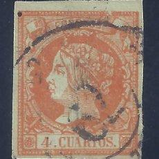 Sellos: EDIFIL 52 ISABEL II. AÑO 1860.. Lote 139808030