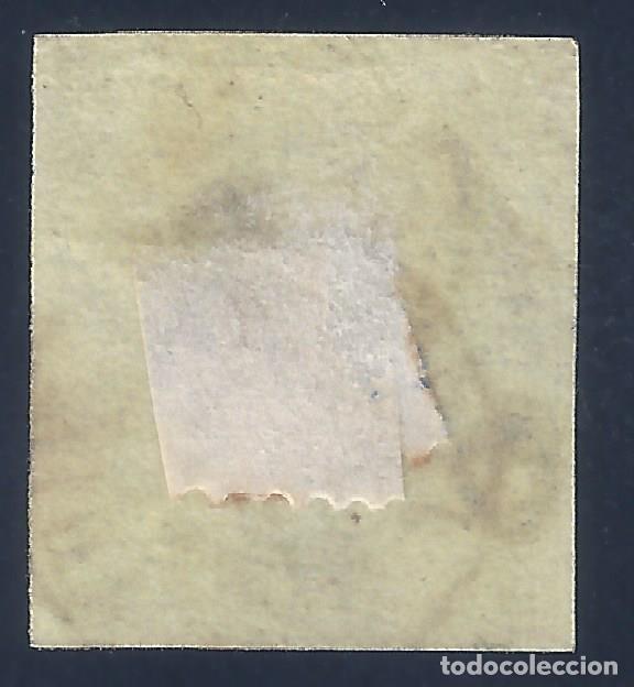 Sellos: EDIFIL 57 ISABEL II. AÑO 1864. MATASELLOS JERÉZ DE LA FRONTERA. VALOR CATÁLOGO: 16 €. - Foto 2 - 139901630