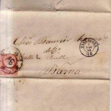 Sellos: AÑO 1856 EDIFIL 48 CARTAL MATASELLOS RUEDA DE CARRETA 46 TARRAGONA. Lote 142460998