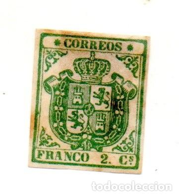 ESPAÑA 1854 EDIFIL 32 (Sellos - España - Isabel II de 1.850 a 1.869 - Nuevos)