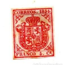 Sellos: ESPAÑA 1854 EDIFIL 33. Lote 143194094