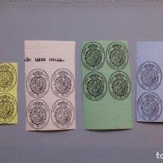 Sellos: ESPAÑA-1855 - EDIFIL 35/38 - SERIE COMPLETA - BLOQUE 4 - RAROS - MNH** - NUEVOS - V. CATALOGO +300€. Lote 143332118