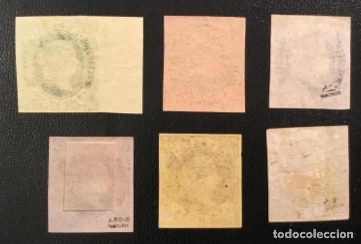 Sellos: 1862-ESPAÑA ISABEL II EDIFIL 57/62* SERIE COMPLETA - NUEVO - - Foto 8 - 143895706