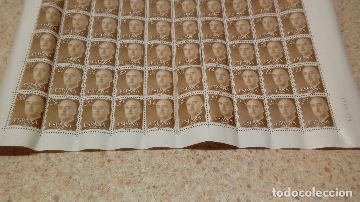 Sellos: PLIEGO DE 100 SELLOS DE FRANCO DE 30 CÉNTIMOS, 1955, NUEVOS, SELLOS DEL ESTADO ESPAÑOL. - Foto 2 - 144407286