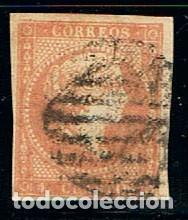 EDIFIL Nº 48, ISABEL II, USADO, BIEN DE MARGENES (Sellos - España - Isabel II de 1.850 a 1.869 - Usados)