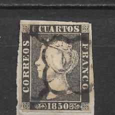 Sellos: ESPAÑA 1850 EDIFIL 1A - 12/16. Lote 145207582