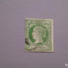 Sellos: ESPAÑA - 1860-1861 - ISABEL II - EDIFIL 51 - MUY BONITO - VALOR CATALOGO 28€.. Lote 145277090
