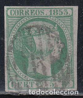 ESPAÑA, 1853 EDIFIL Nº 20 (Sellos - España - Isabel II de 1.850 a 1.869 - Usados)