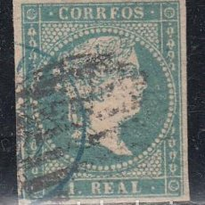 Sellos: ESPAÑA, 1855 EDIFIL Nº 45. Lote 145796730