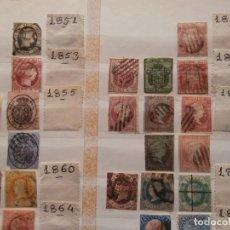 Sellos: CLASIFICADOR CON SELLOS PRIMER CENTENARIO DESDE 1851 HASTA 1954.. Lote 146510886