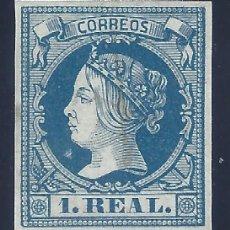 Sellos: EDIFIL 55 ISABEL II. AÑO 1860. VALOR CATÁLOGO: 385 €. MNH **. Lote 147375642