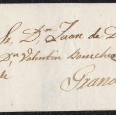Sellos: 1859. BAEZA A GRANADA. 4 CUARTOS ED. 48 MAT. FECHADOR TIPO II DE BAEZA NEGRO.. Lote 148648466