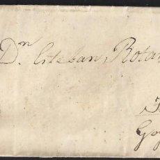 Sellos: 1861. SANTIAGO A GOYÁN. 4 CUARTOS ED. 52. MAT. RC 56 NEGRA. FECHADOR TIPO II. BONITA E INTERESANTE.. Lote 150950138