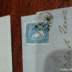 Sellos: LOTE DE 5 CARTAS TIMBRES 1865. Lote 151095110