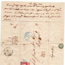 Sellos: CARTA DOCUMENTO CON SELLO DE 4 CUARTOS. Lote 152025166