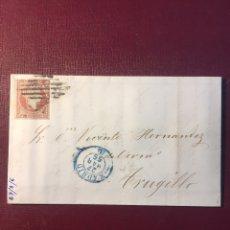 Sellos: CARTA FILATELICA,(MADRID 1856). Lote 152797276