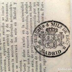 Sellos: TIMBRE DE PERIÓDICO 1866. 4 MILS. DE ESCUDO. Lote 153277078