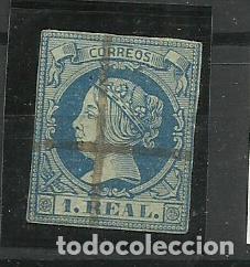 ESPAÑA 1860 USADO (Sellos - España - Isabel II de 1.850 a 1.869 - Usados)
