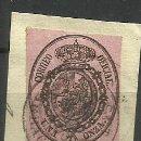 Sellos: ESPAÑA 1855 USADO (BONITO MATASELLO). Lote 155954202
