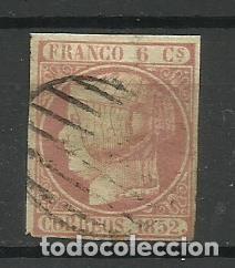 ESPAÑA 1852 USADO (Sellos - España - Isabel II de 1.850 a 1.869 - Usados)